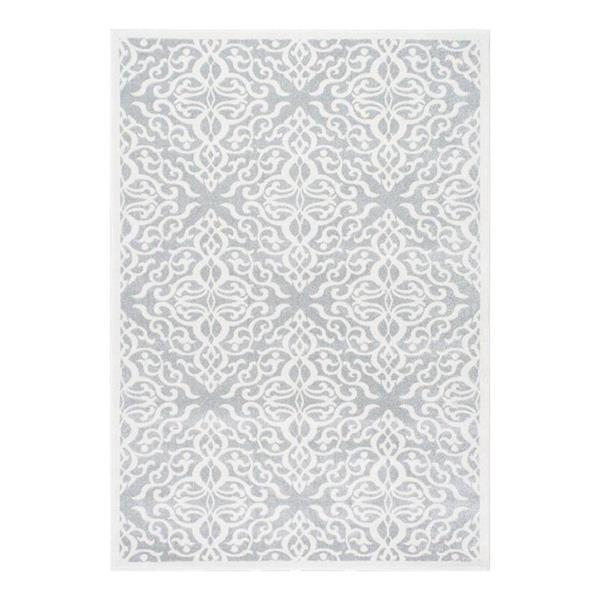 nuLOOM Contessa 7-ft x 9-ft Grey Handcrafted Area Rug