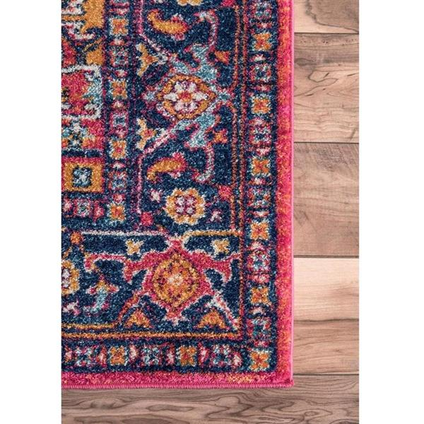 nuLOOM Vonda 5-ft x 8-ft Rectangular Orange Indoor Area Rug