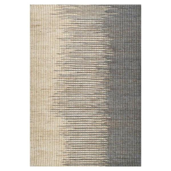 nuLOOM Hulsey 8-ft x 10-ft Gray Rectangular Indoor Handcrafted Area Rug