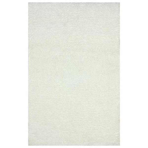 nuLOOM Magnifique 8-ft x 10-ft Rectangular White Indoor Area Rug