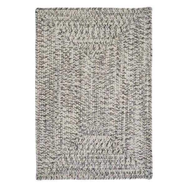 Colonial Mills Corsica 2-ft x 8-ft Silver Shimmer Runner