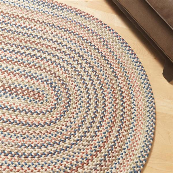 Colonial Mills Cedar Cove 4-ft x 6-ft Natural Oval Area Rug