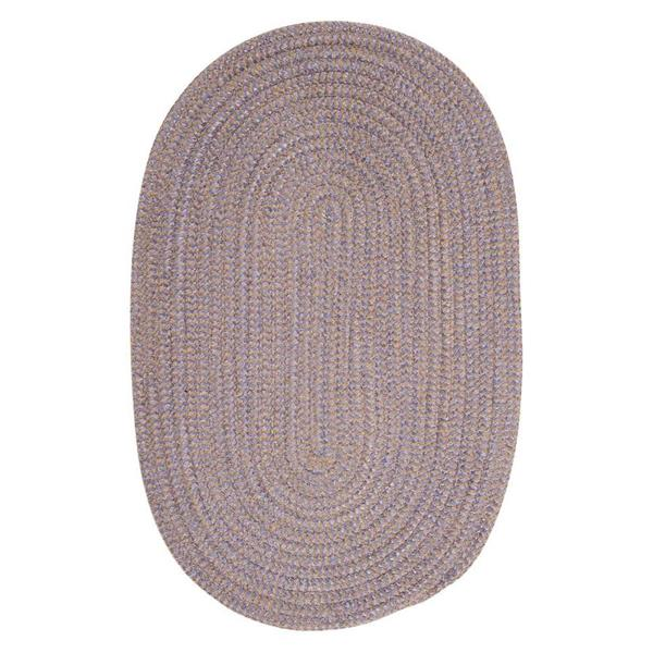 Colonial Mills Softex Check 4-ft Round Amethyst Check Area Rug