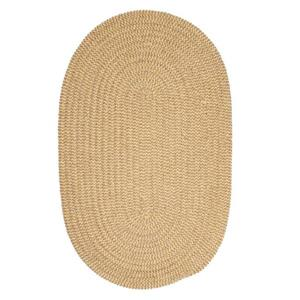 Colonial Mills Softex Check 3-ft x 5-ft Pale Banana Check Area Rug