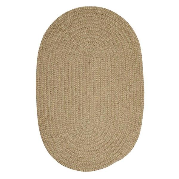 Colonial Mills Softex Check 8-ft Round Celery Check Area Rug