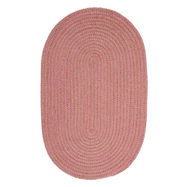 Colonial Mills Softex Check 6-ft Round Camerum Check Area Rug