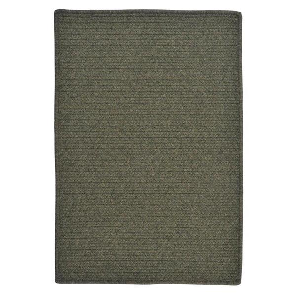 Colonial Mills Courtyard 4-ft Olive Round Area Rug