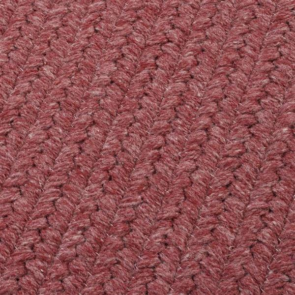 Colonial Mills Courtyard 2-ft x 8-ft Mauve Runner