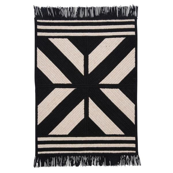 Colonial Mills Sedona 2-ft x 10-ft Rectangular Indoor Black Area Rug Runner