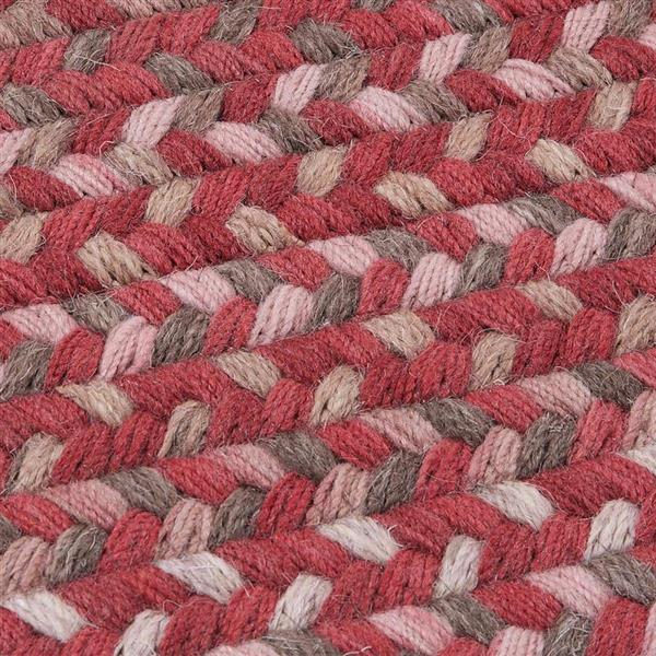Colonial Mills Gloucester 2-ft x 8-ft Rhubarb Rectangular Indoor Area Rug Runner