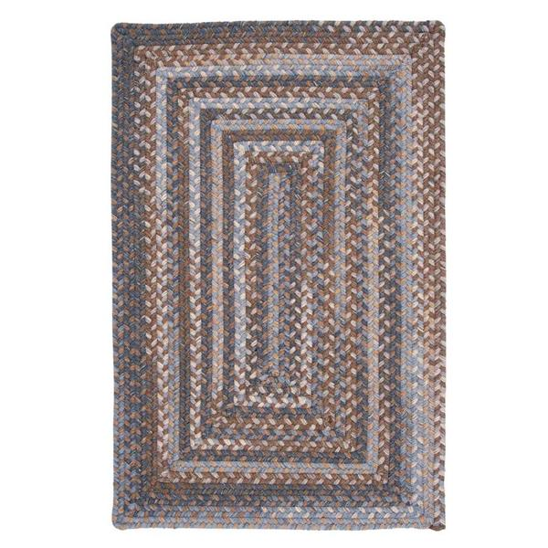 Colonial Mills Gloucester 8-ft x 8-ft Graphite Square Indoor Area Rug