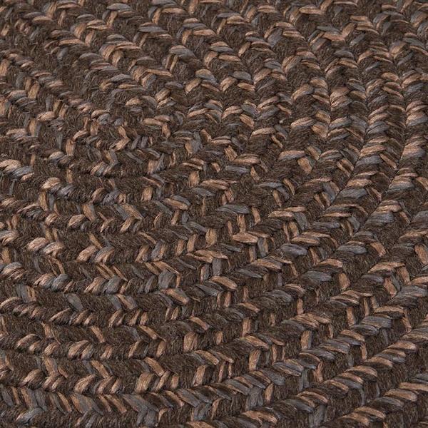 Colonial Mills Hayward 4-ft x 6-ft Oval Bark Indoor Area Rug