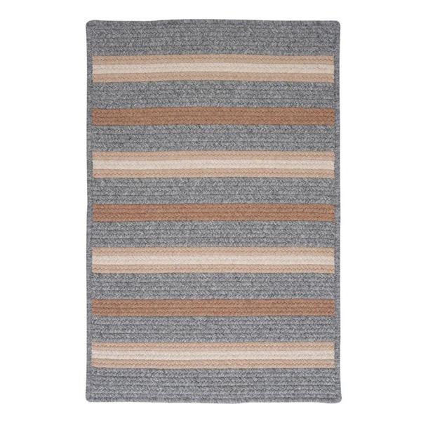 Colonial Mills Salisbury 8-ft x 11-ft Rectangular Indoor Gray Area Rug