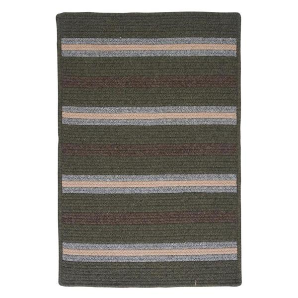 Colonial Mills Salisbury 8-ft x 8-ft Square Indoor Olive Area Rug