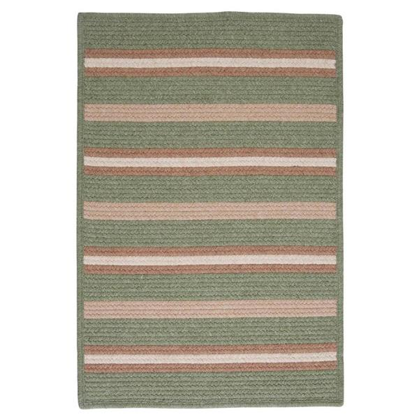 Colonial Mills Salisbury 8-ft x 8-ft Square Indoor Palm Area Rug