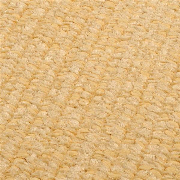 Colonial Mills Simple Chenille 4-ft x 4-ft Dandelion Square Area Rug