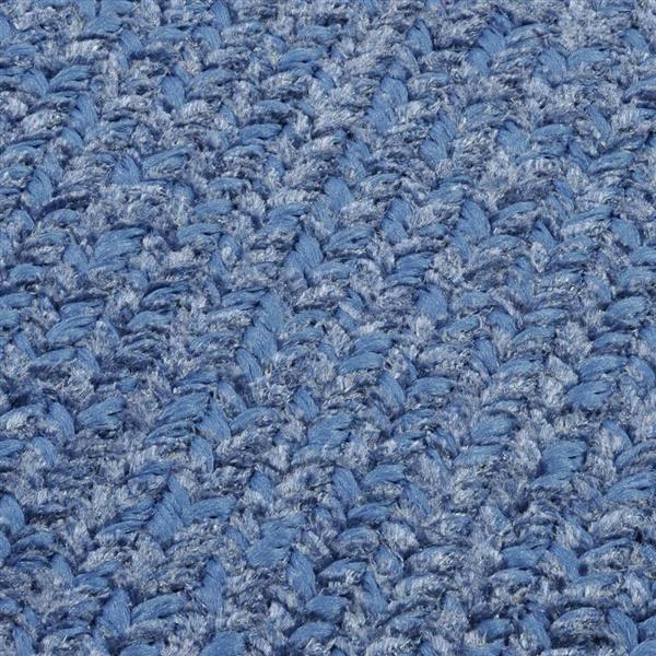 Colonial Mills Simple Chenille2-ft x 4-ft Petal Blue Rectangular Area Rug