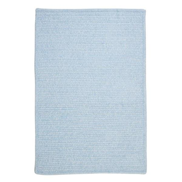 Colonial Mills Simple Chenille 2-ft x 6-ft Sky Blue Rectangular Area Rug
