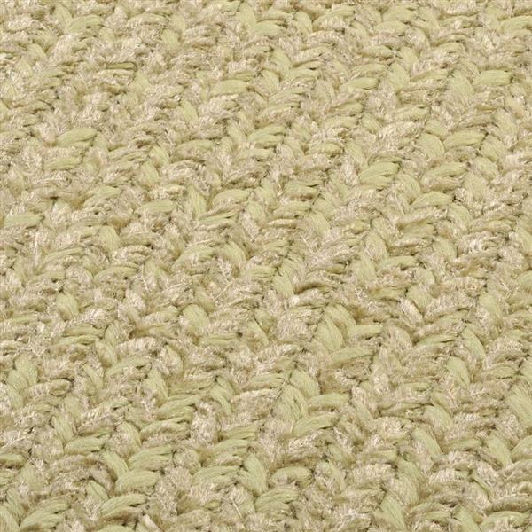 Colonial Mills Simple Chenille 4-ft x 4-ft Sprout Green Square Area Rug