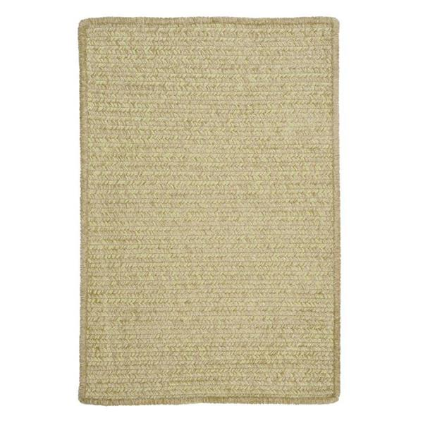 Colonial Mills Simple Chenille 6-ft x 6-ft Sprout Green Square Area Rug