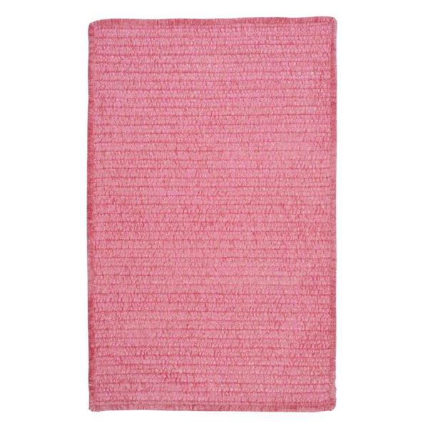 Colonial Mills Simple Chenille 4-ft x 4-ft Silken Rose Suare Area Rug