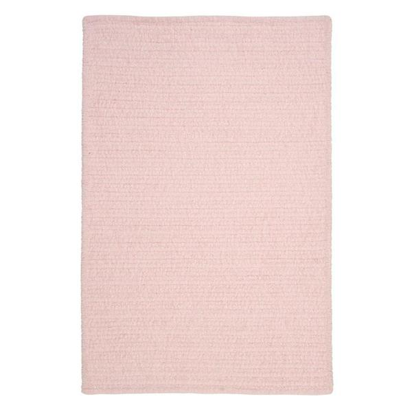 Colonial Mills Simple Chenille 2-ft x 6-ft Blush Pink Indoor Area Rug