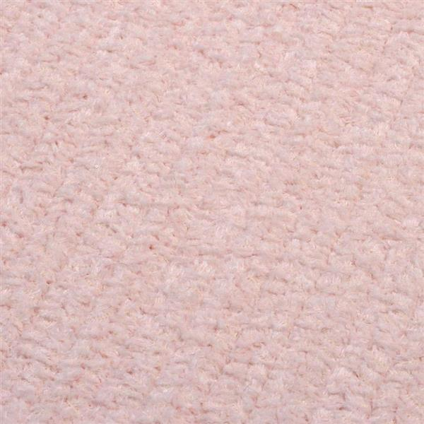 Colonial Mills Simple Chenille 4-ft x 6-ft Blush Pink Indoor Area Rug