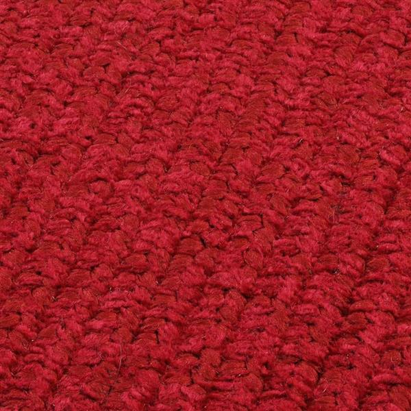 Colonial Mills Simple Chenille 5-ft x 8-ft Sangria Rectangular Area Rug