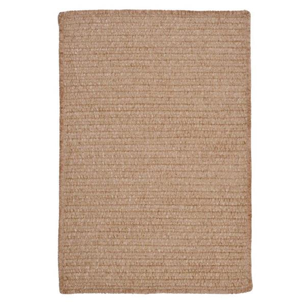 Colonial Mills Simple Chenille 4-ft x 6-ft Sand Bar Rectangular Area Rug