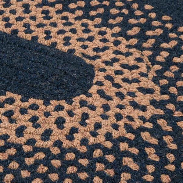 Colonial Mills Madison 4-ft x 6 ft Blue Moon Oval Area Rug