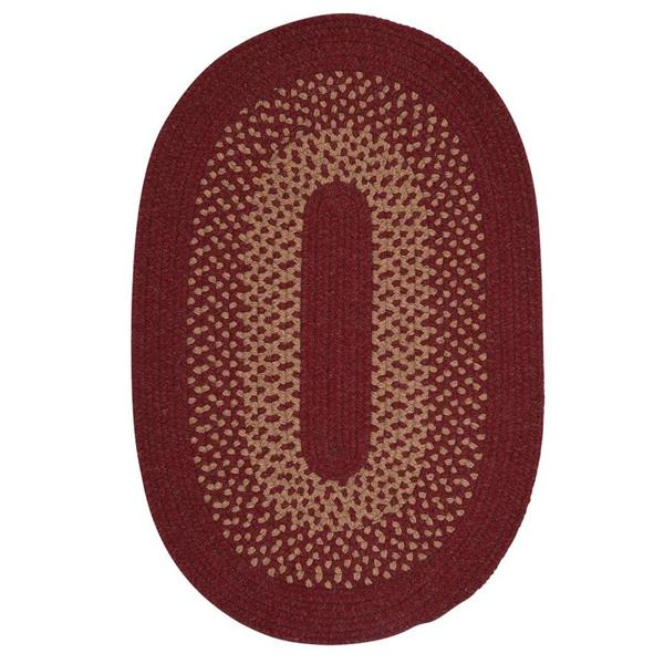 Colonial Mills Madison 6-ft Holly Berry Round Area Rug