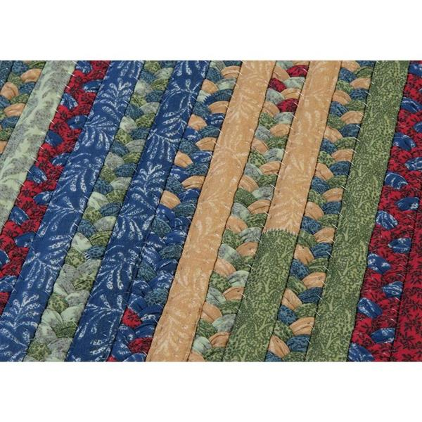 Colonial Mills Market Mix 4-ft x 4-ft Square Indoor Sea Glass Area Rug