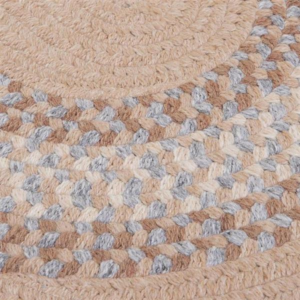 Colonial Mills North Ridge 7-ft and 8-ft Oatmeal Round Area Rug