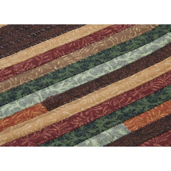 Colonial Mills Quilter's Choice 6-ft Round Forest Area Rug