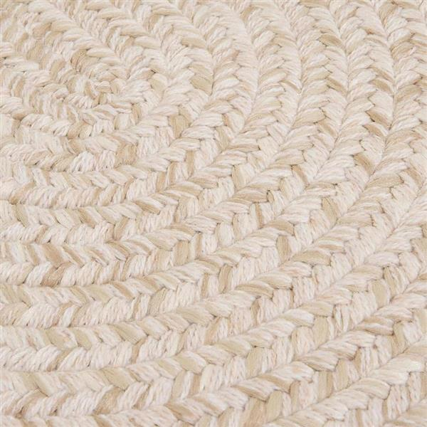 Colonial Mills Tremont 2-ft x 8-ft Natural Oval Runner