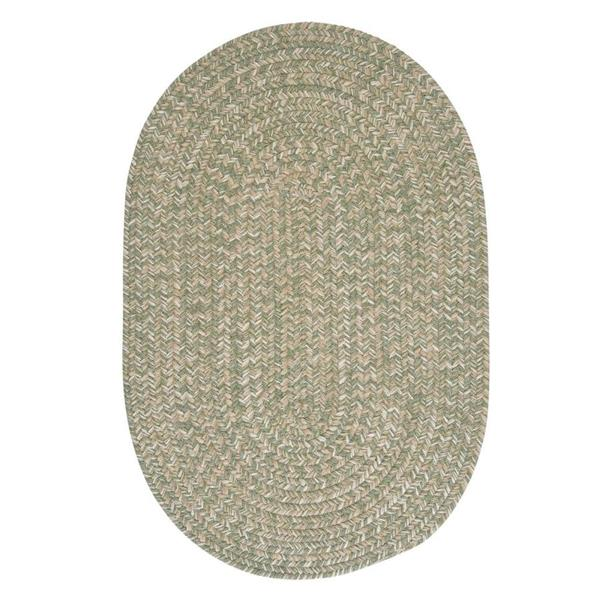 Colonial Mills Tremont 5-ft x 8-ft Palm Oval Area Rug