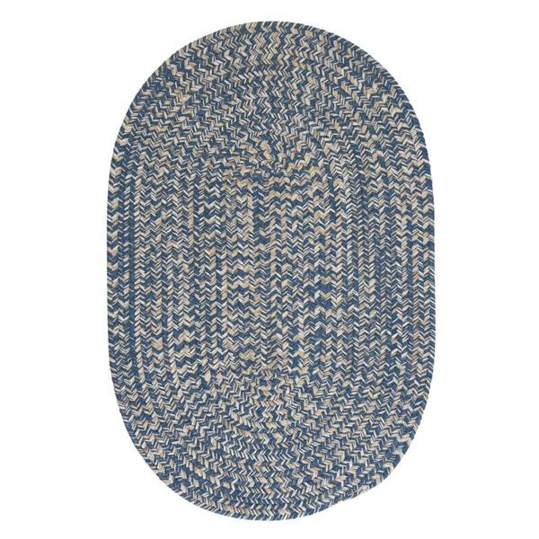 Colonial Mills Tremont 8-ft Handcrafted Denim Round Area Rug