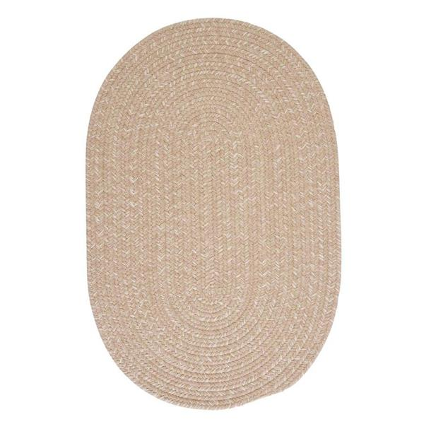 Colonial Mills Tremont 8-ft Round Oatmeal Area Rug