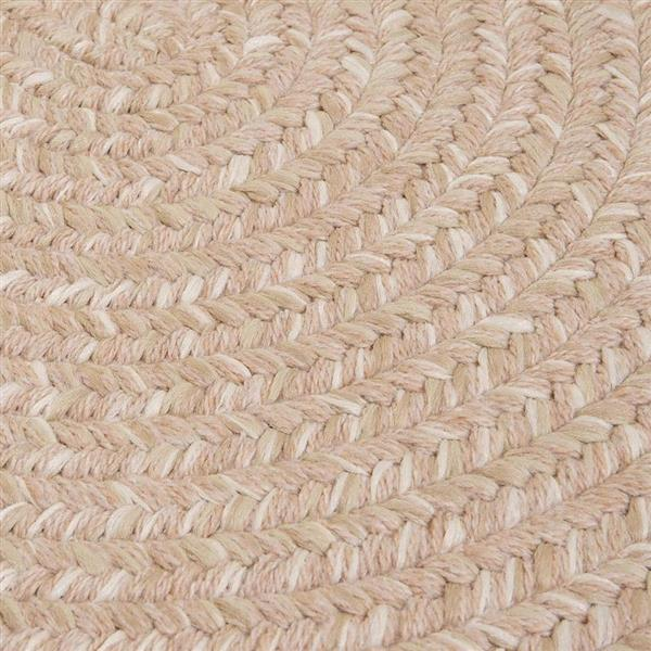Colonial Mills Tremont 8-ft x 11-ft Oatmeal Oval Area Rug