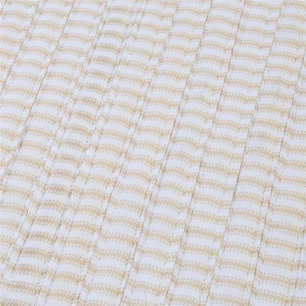 Colonial Mills Ticking Stripe 2-ft x 10-ft Rectangular Indoor Canvas Area Rug Runner