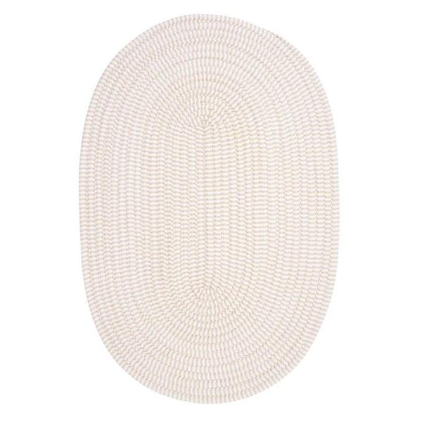 Colonial Mills Ticking Stripe 5-ft x 8-ft Oval Indoor Canvas Area Rug