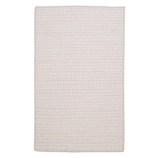 Colonial Mills Ticking Stripe Rectangle 6-ft x 6-ft Handcrafted Canvas Square Indoor Area Rug