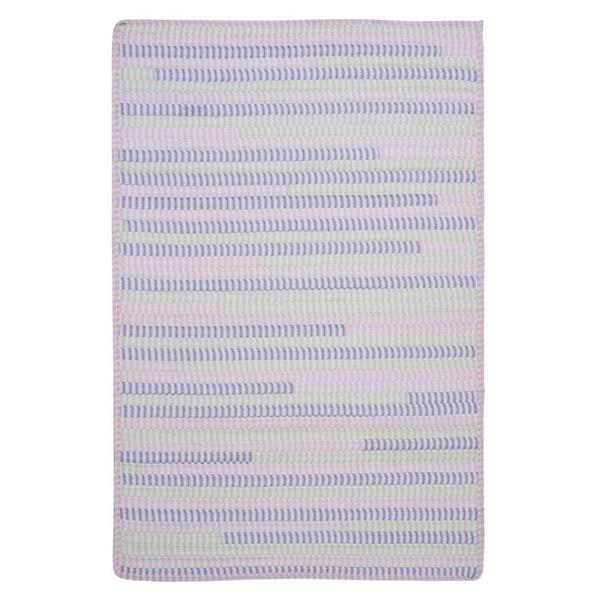 Colonial Mills Ticking Stripe Rectangle 2-ft x 10-ft Handcrafted Dreamland Indoor Runner