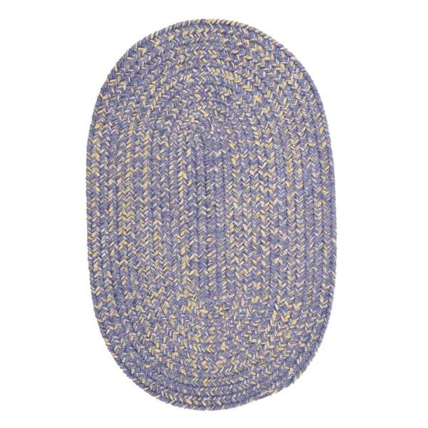 Colonial Mills West Bay 5-ft x 8-ft Amethyst Handcrafted Runner Rug