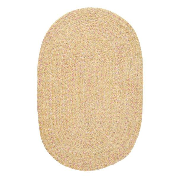 Colonial Mills West Bay 7-ft x 9-ft Banana Handcrafted Area Rug