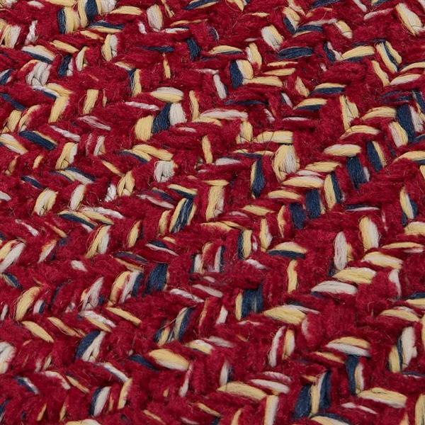 Colonial Mills West Bay 2-ft x 8-ft Rectangular Indoor Sangria Tweed Area Rug Runner