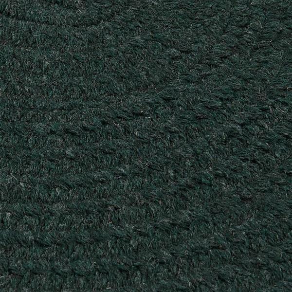 Colonial Mills Bristol 5-ft x 8-ft Oval Indoor Dark Green Area Rug