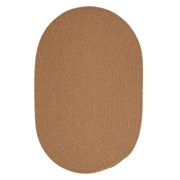 Colonial Mills Bristol 3-ft x 5-ft Evergold Oval Area Rug