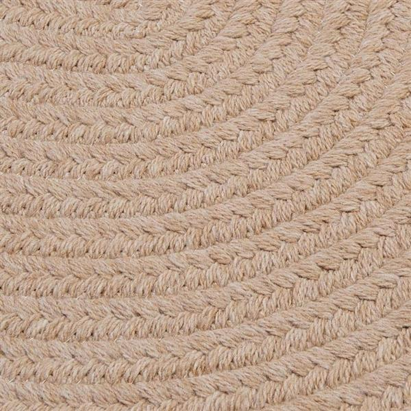 Colonial Mills Bristol 5-ft x 8-ft Oatmeal Area Rug