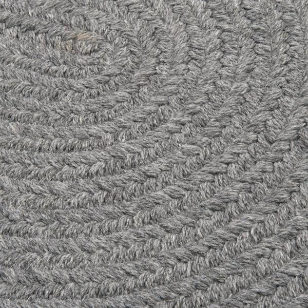 Colonial Mills Bristol 3-ft and 4-ft Gray Round Area Rug